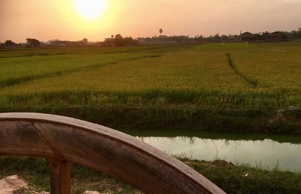 Beautiful Sunset with Ox Cart Adventure Tour
