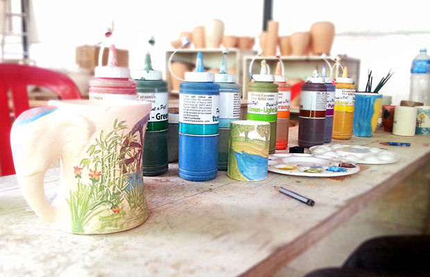 Ceramics Art Painting Tour in Siem Reap