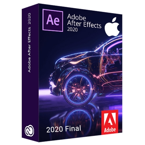 Adobe After Effects 2020 Final Multilingual macOS