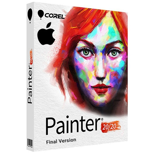 Corel Painter 2020 Full for MacOS + Premium Brush Packs