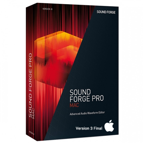 Sony Sound Forge Pro 3 Final for Mac