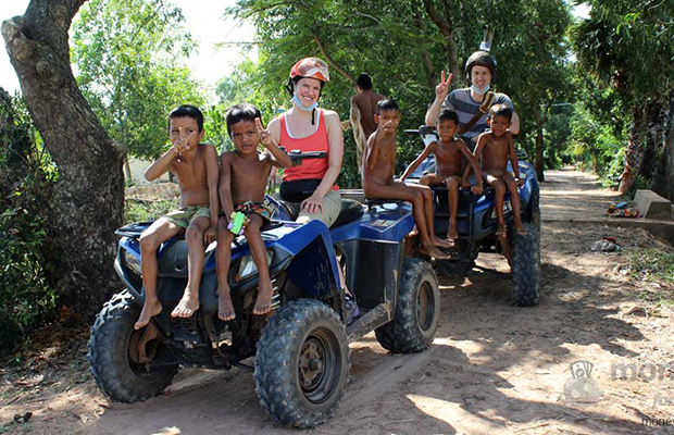 Quad Bike Village Discovery Tour