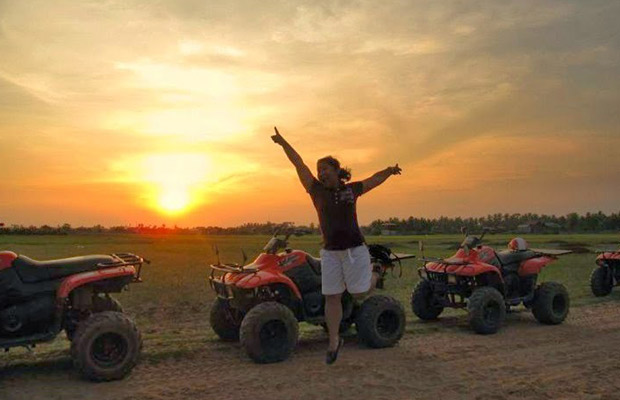Short Break Quad Bike Sunset
