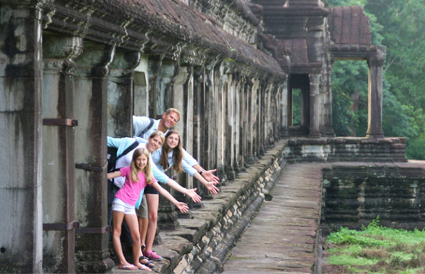 Amazing Cambodia Family Holiday