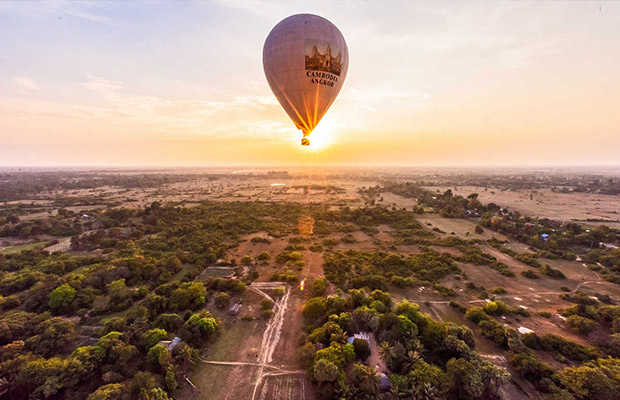 Angkor Stunning Hot Air Balloon
