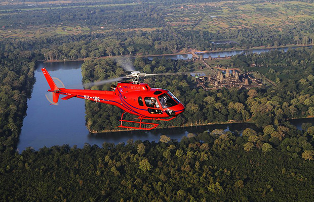 Angkor Wat Helicopter Flight Tour