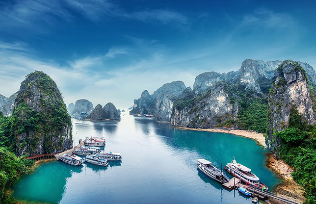 Cambodia and Vietnam with Halong Bay Cruise Tour