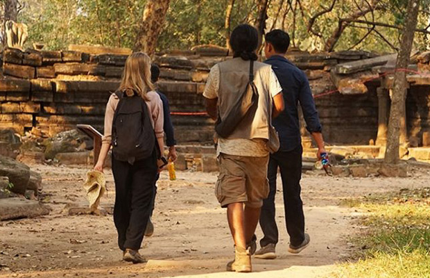Cambodia Easy Hiking Tour in Siem Reap