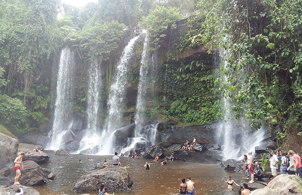 Cambodia Family Tour with Kulen Mountain Waterfall