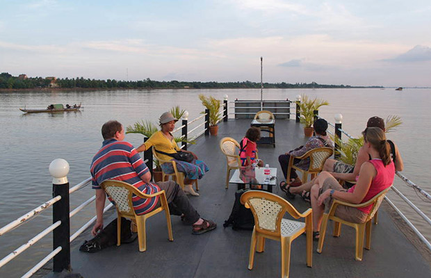 Mekong River Sunset Cruise Tour
