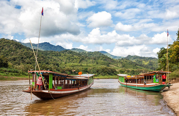 Mekong River Trip to Laos