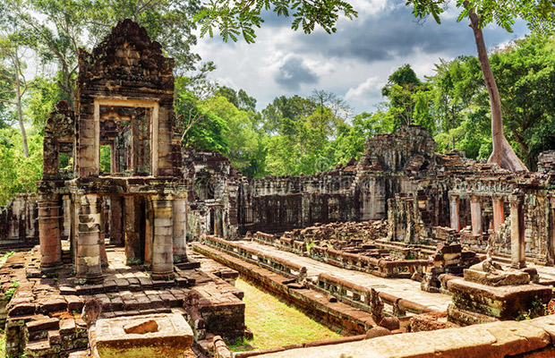 Preah Khan and Neak Pean Temples Day Tour