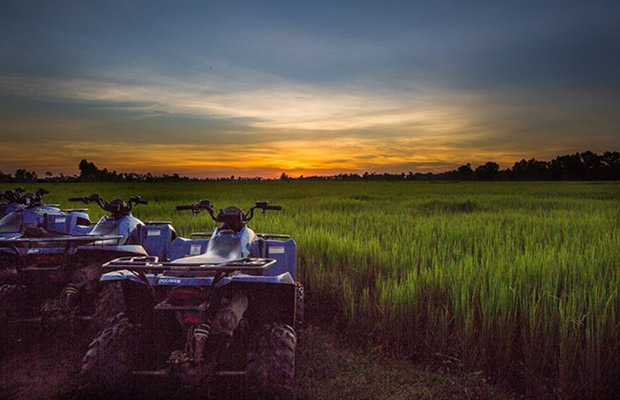 Quad Bike Sunset Rider Tour