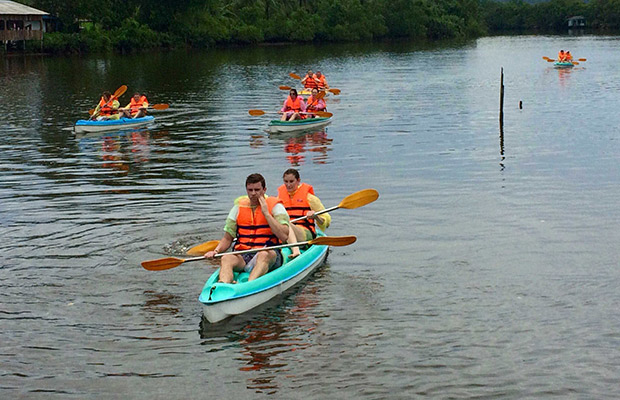 Ream National Park Kayaking & Boat Trip Day Tour