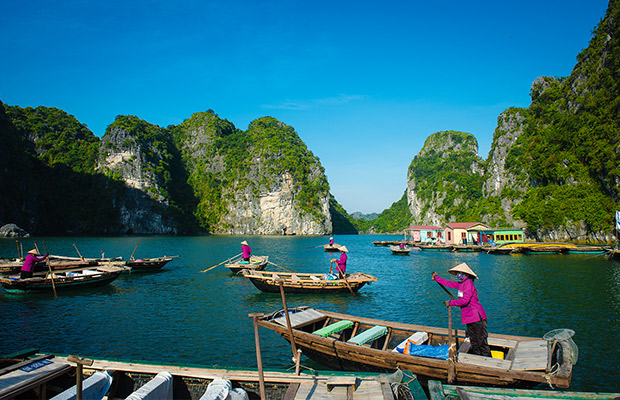 Vietnam, Cambodia and Thailand Highlights Tour